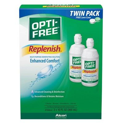 Replenish Multi-Purpose Disinfecting Solution for Contact Lens - 2ct