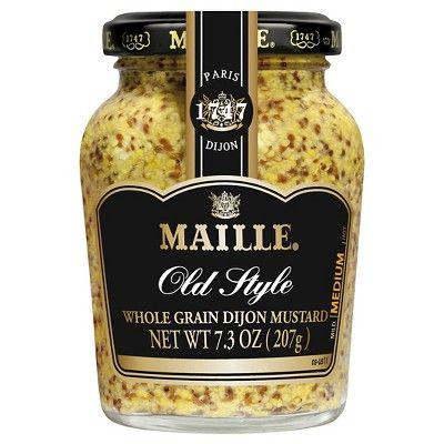 Maille Old Style Whole Grain Dijon Mustard - 7.3oz