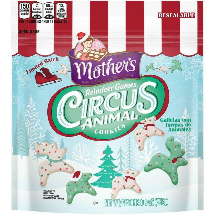 Mother's Reindeer Games Circus Animal Cookies - 9oz