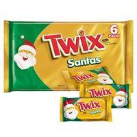 Twix Christmas Santa - 6.36oz/6ct
