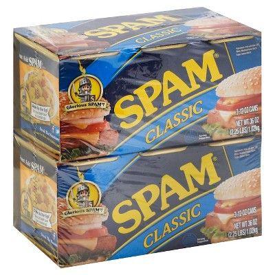 Spam Classic 6 pk - 12 oz