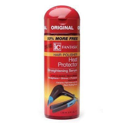 Fantasia IC Hair Polisher Heat Protector Straightening Serum - 6 fl oz