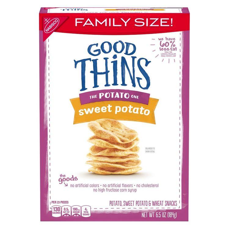 Good Thins Family Size Sweet Potato - 6.5oz