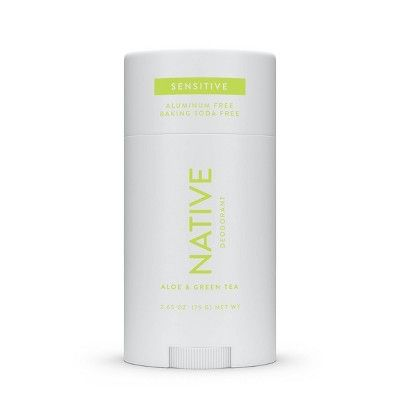 Native Sensitive Deodorant Aloe & Green Tea - 2.65oz