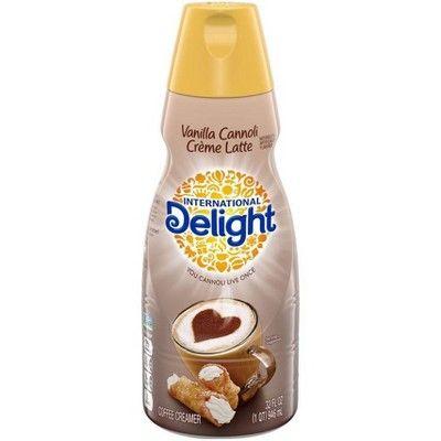 International Delight Vanilla Cannoli Coffee Creamer - 32 fl oz