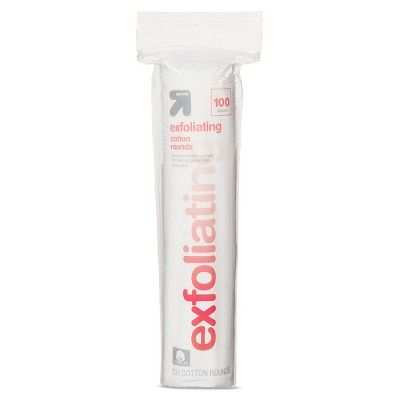 Exfoliating Cotton Rounds - 100ct - Up&Up™