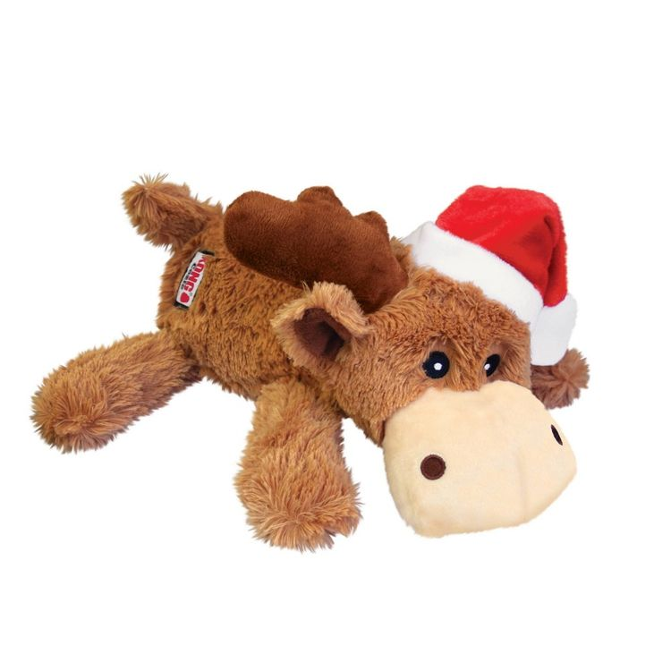 KONG Holiday Cozie Reindeer Holiday Dog Toy - L