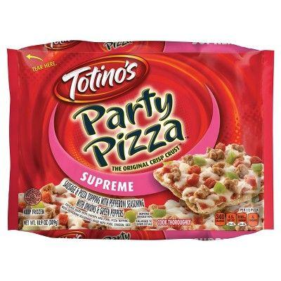Totino's Supreme Party Frozen Pizza - 10.9oz