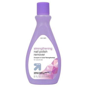 Strengthening Nail Polish Remover - 6oz - Up&Up™