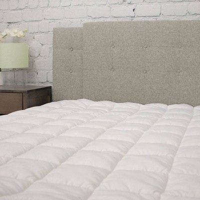 eLuxury Pillowtop Mattress Pad, Twin Extra Long