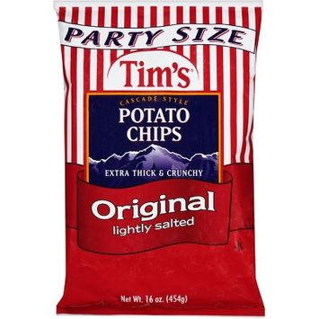 Tim's Original Lightly Salted Party Size Potato Chips