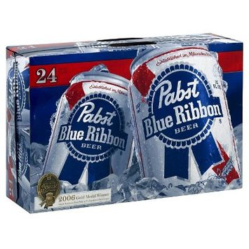 Pabst Blue Ribbon Beer - 24pk/12 fl oz Cans