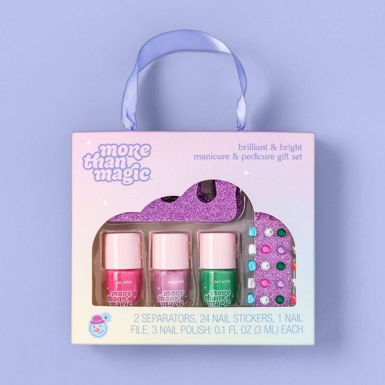 Brilliant & Bright Manicure & Pedicure Gift Set - 7pc - More Than Magic
