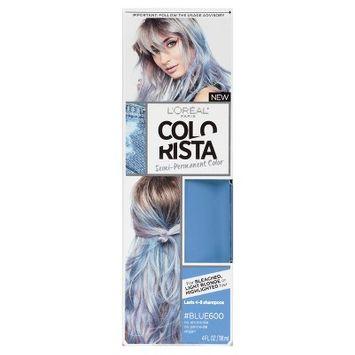 L'Oreal Paris Colorista Semi-Permanent for Light Blonde or Bleached Hair Blue - 4 fl oz
