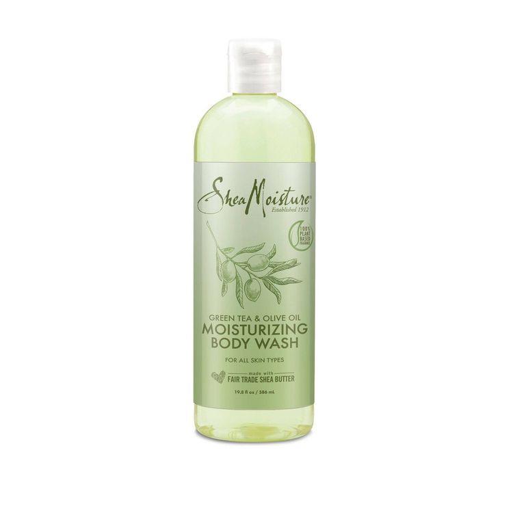SheaMoisture Body Wash Olive Oil and Green Tea - 19.8 fl oz