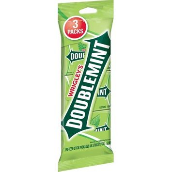 Doublemint Gum - 15 sticks/3pk