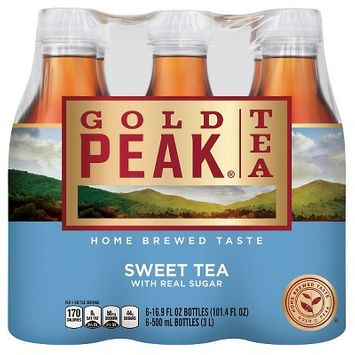 Gold Peak Sweet Tea - 16.9 fl oz Bottles