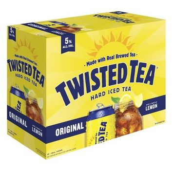 Twisted Tea Original Hard Iced Tea - 12pk/12 fl oz Cans