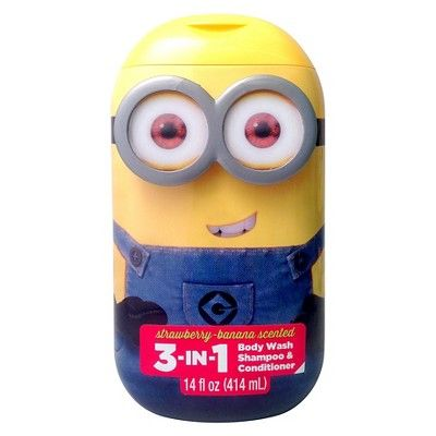 Minion 3-in-1 Body Wash - 14 oz (Assorted)
