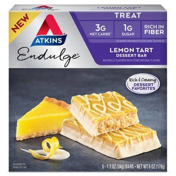 Atkins Endulge Desert Bar - Lemon Tart - 5ct