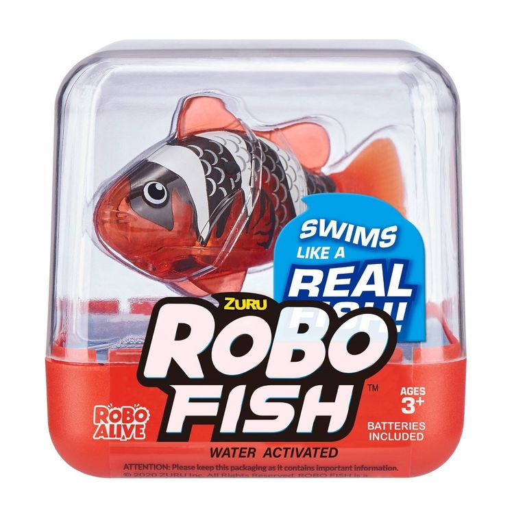 Robo Alive Robotic Fish - Red