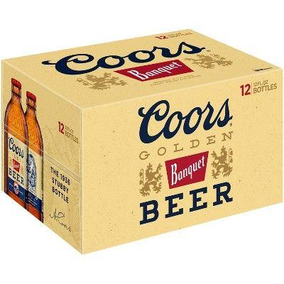 Coors Banquet Beer - 12pk/12 fl oz Bottles