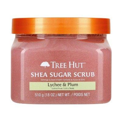Tree Hut Shea Sugar Scrub Lychee & Plum - 18oz