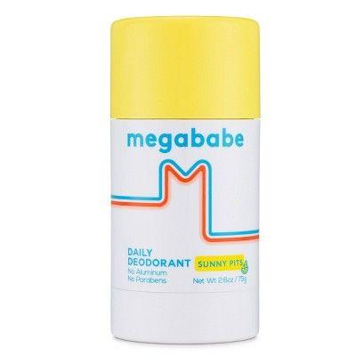 Megababe Sunny Pits Daily Deodorant - 2.6oz