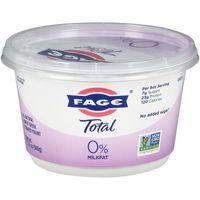 FAGE Total 0% Milkfat Plain Greek Yogurt - 17.6oz