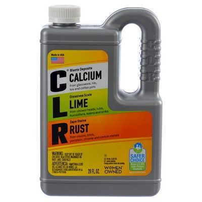 CLR Calcium Lime and Rust Remover - 28 fl oz