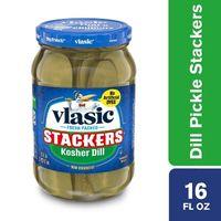 Vlasic Kosher Dill Stackers