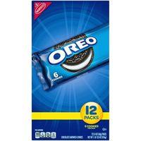 Oreo Chocolate Sandwich Cookies - Snack Packs - 2.4oz / 12ct