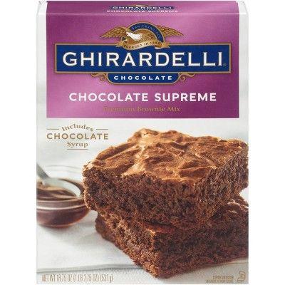 Ghirardelli Chocolate Supreme Brownie Mix - 18.75oz