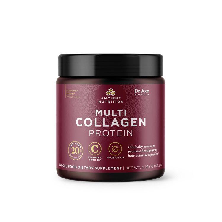 Ancient Nutrition Multi Collagen Protein Powder - 4.28oz