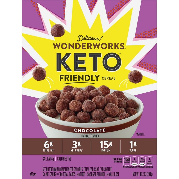 Wonderworks Keto Chocolate Cereal - 10.2oz - General Mills