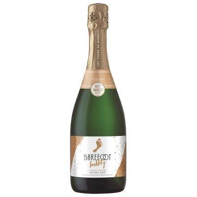Barefoot Bubbly Extra Dry Sparkling Wine - 750ml Bottle