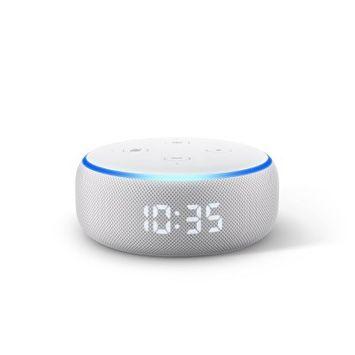 Amazon Echo Dot (3rd Gen) - With Clock - Sandstone