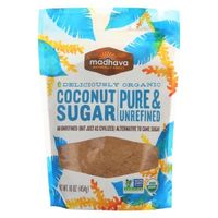 Madhava Organic Coconut Sugar - 16oz