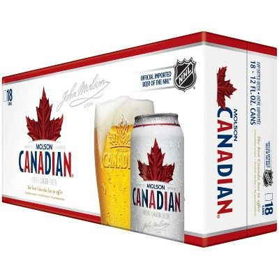 Molson Canadian Beer - 18pk/12 fl oz Cans