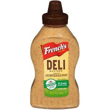 French's Horseradish Mustard - 12oz
