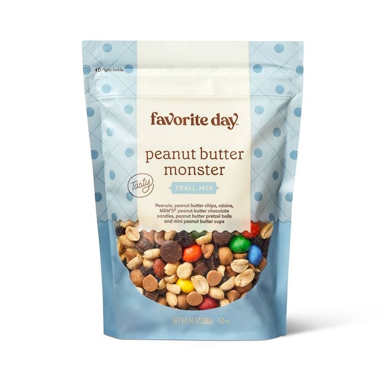 Peanut Butter Monster Trail Mix - 14oz - Favorite Day