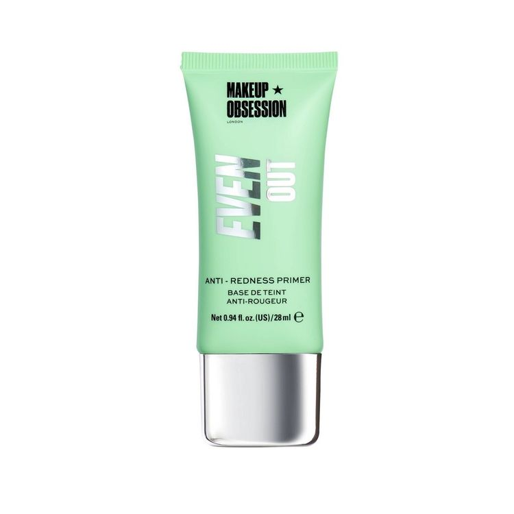 Makeup Obsession Even Out Ant-Redness Primer - 0.94 fl oz, Multi-Colored