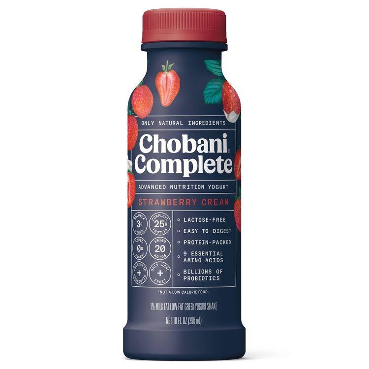 Chobani Complete Strawberry Cream Yogurt Shake - 10 fl oz