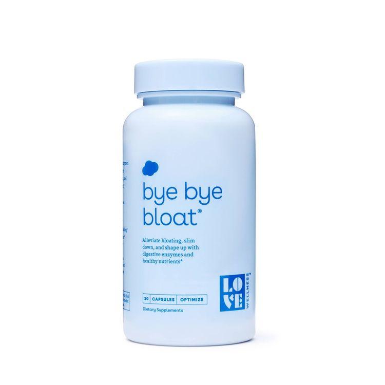 Love Wellness Bye Bye Bloat - 60ct