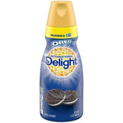 International Delight Oreo Coffee Creamer - 1qt