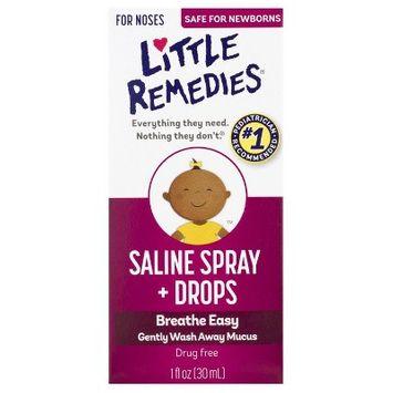 Slide: Little Remedies Saline Spray/Drops - 1 fl oz