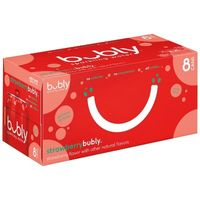bubly Strawberry Sparkling Water - 8pk/12 fl oz Cans