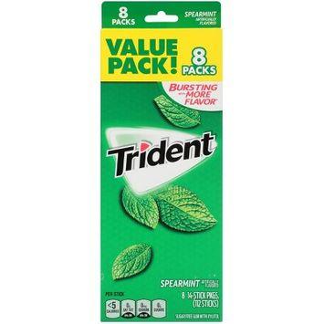 Trident Spearmint Gum 8ct / 14pkgs