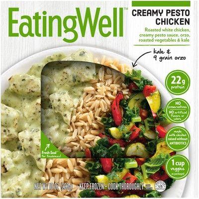 EatingWell Creamy Pesto Chicken Frozen Prepared Meal - 10oz
