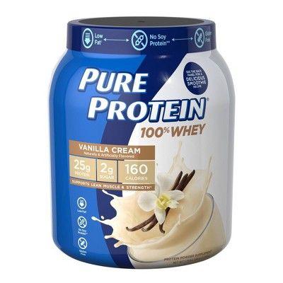 Pure Protein 100% Whey Powder - Vanilla Cream